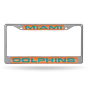Dolphins  Laser Chrome Frame
