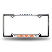 Denver Broncos Ez View Chrome Frame