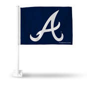 Braves Secondary Design Car Flag