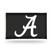 Alabama Crimson Tide 3x5 Premium Banner Flag - Carbon Fiber Design