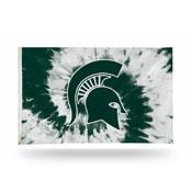Michigan State - Tie Die Design - Banner Flag (3X5)