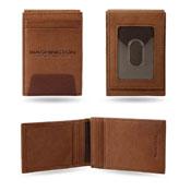 Washington Football Team Genuine Leather Front Pocket Wallet