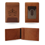 Kings - La  Premium Leather Front Pocket Wallet
