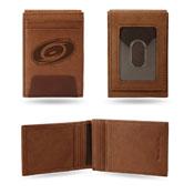Carolina Hurricanes Genuine Leather Front Pocket Wallet