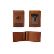 Sharks  Premium Leather Front Pocket Wallet