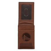 Warriors Premium Leather Front Pocket Wallet-1