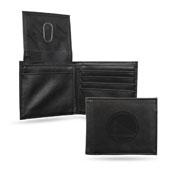 Warriors Laser Engraved Billfold Wallet