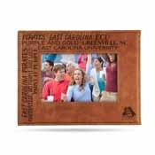 East Carolina Laser Engraved Brown Picture Frame (6.75