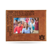 Auburn Laser Engraved Brown Picture Frame (6.75