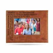 Denver Broncos Laser Engraved Picture Frame (6.75