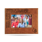 Louisville Laser Engraved Brown Picture Frame (6.75