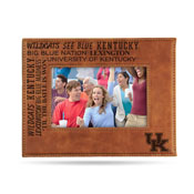 Kentucky University Laser Engraved Brown Picture Frame (6.75