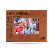 Bills Laser Engraved Brown Picture Frame (6.75