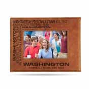 Washington Football Team Laser Engraved Picture Frame (6.75