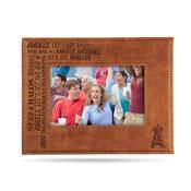 Angels Laser Engraved Brown Picture Frame (6.75