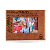 Arizona University Laser Engraved Brown Picture Frame (6.75