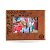 Twins Laser Engraved Brown Picture Frame (6.75