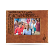 Cavaliers Laser Engraved Brown Picture Frame (6.75