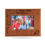 Suns Laser Engraved Brown Picture Frame (6.75