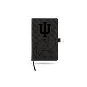 Indiana University Basketball Laser Engraved Notepad With Elastic Band