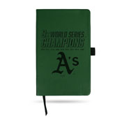 Oakland Athletics LESPD Engraved Small Notepad - 9 Time World Series Champs