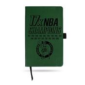 Boston Celtics LESPD Engraved Small Notepad