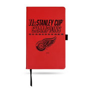 Red Wings : 11 Time Stanley Cup Champs Le Small Notepad - Red
