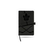 Maple Leafs  Laser Engraved Notepad With Elastic Band