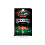Florida University 11X17 Large Embossed Metal Wall Sign