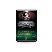 Florida State 11X17 Large Embossed Metal Wall Sign