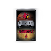 Louisville 11X17 Large Embossed Metal Wall Sign