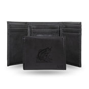 WILDLIFE - PERSONALIZED BASS SCENE LASER ENGRAVED TRIFOLD WALLET