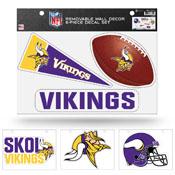 Vikings Removable Wall Decor Set (8.5
