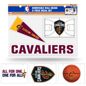 Cavaliers Removable Wall Decor Set (8.5