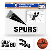 Spurs Removable Wall Decor Set (8.5