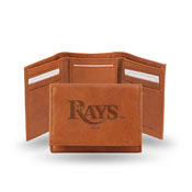 Rays Embossed Trifold