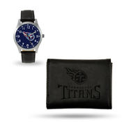 Titans Sparo Black Watch And Wallet Gift Set