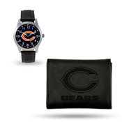 Bears Sparo Black Watch And Wallet Gift Set