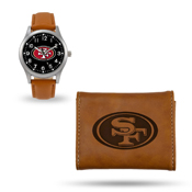 49Ers Sparo Brown Watch And Wallet Gift Set