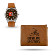 Browns Sparo Brown Watch And Wallet Gift Set