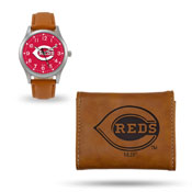 Reds Sparo Brown Watch And Wallet Gift Set