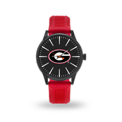 Sparo Georgia Cheer Watch With Red Watch Band
