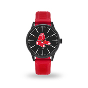 Sparo Red Sox Cheer Watch With Red Watch Band