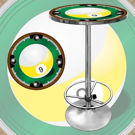 9-Ball Light Pub Table