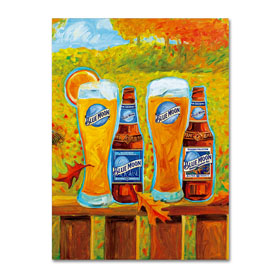 Blue Moon 'Harvest' Canvas Art - 3