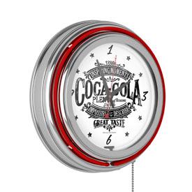 Coca Cola Brazil 1886 Vintage Neon Clock