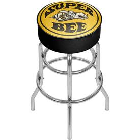 Dodge Padded Swivel Bar Stool - Super Bee