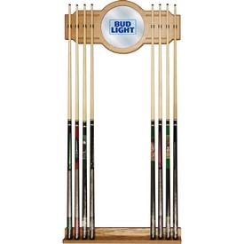 Bud Light Blue Billiard Cue Rack