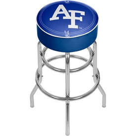 Air Force Falcons Padded Swivel Bar Stool