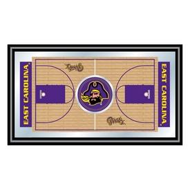 East Carolina University Framed Basketball Court Mirror